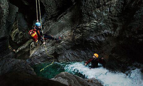 Canyoning in Kössen